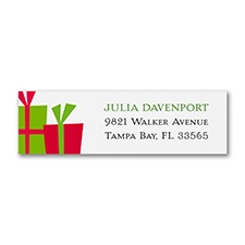 Holiday Presents - Address Label