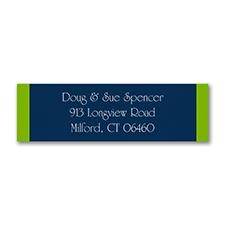 Color Block - Address Label