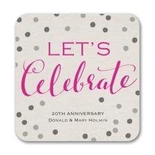 Celebrate Dots - Coaster