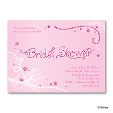 Always Accessorize - Real Glitter Bridal Shower Invitation