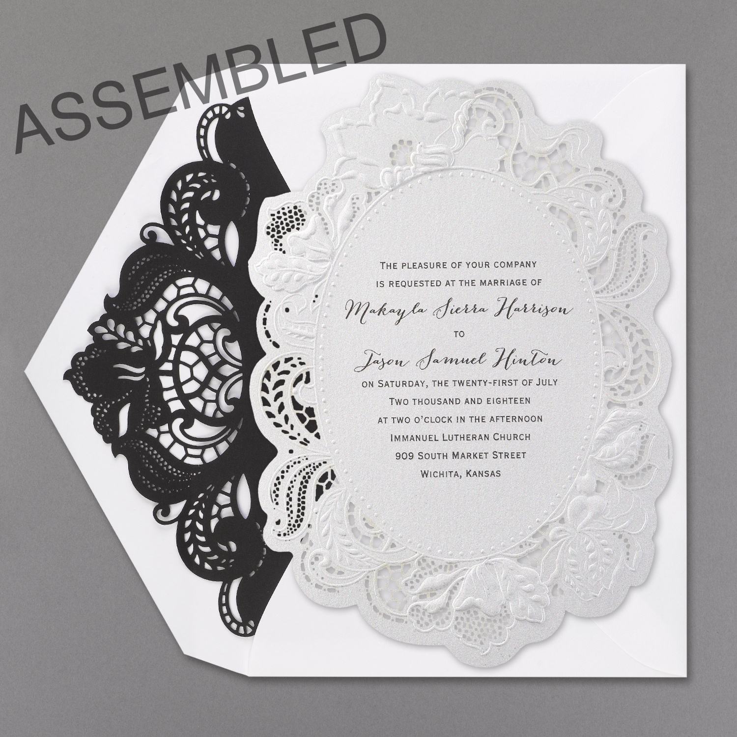 Wedding Invitation News: Paper Lace Wedding Invitations with a ...