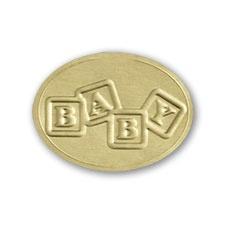 Baby Blocks - Gold Seals