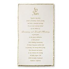 Memorable Wedding Anniversary Invitation Wording for 99 Invitations