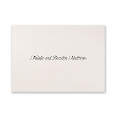Ecru - Note Card and Envelope