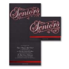 Senior Script - Announcement - Red