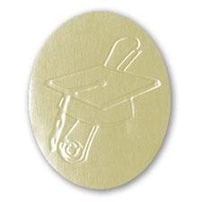 Cap Gold Foil Seal