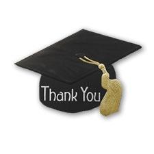 Grad Cap Thank You