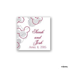 Mickey's Love Favor Tag