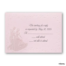 Wedding Proclamation - Pink - Respond Card