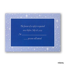 Written in the Stars - Respond Card