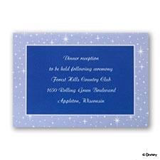 Written in the Stars - Reception Card