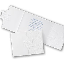 White Snowflake - Invitation