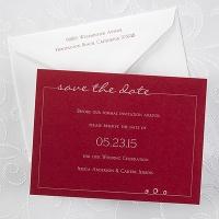 Date Savers - Claret