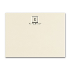 Simply Perfect - Large Note Card - Ecru