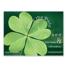 Luck of the Irish - Save the Date Card