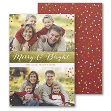 Bright Greeting - Holiday Card