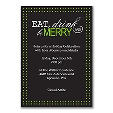 Eat, Drink, Be Merry