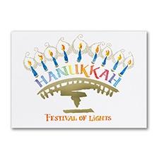 Light Festival Holiday Card