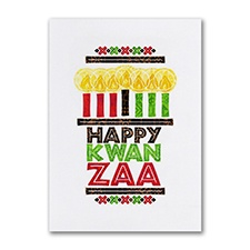 Happy Kwanzaa - Holiday Card
