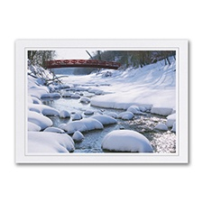 Meandering Holiday Card