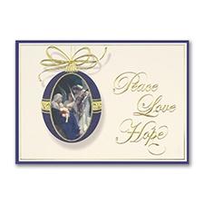 Christmas Riches Religious Card