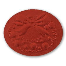 Red Wreath Seal