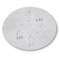 Silver Snowflake Seal