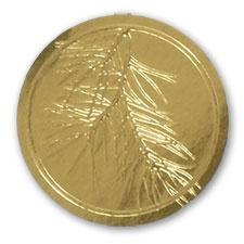 Gold Evergreen Seal