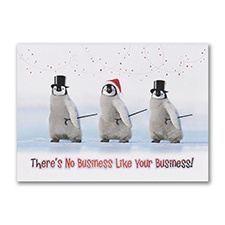 Show Business Holiday Card