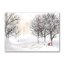 Cardinal Haven Holiday Card
