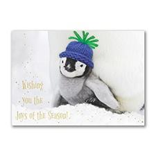 Penguin Joy Holiday Card
