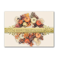 Thanksgiving Colorful Wreath