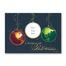 Best Wishes Holiday Card