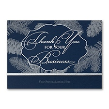 Business holiday thank you card wording ideas and samples send your customers clients and associates personalized business holiday thank you cards from cardsshoppe choose from among our dozens of colourmoves Gallery