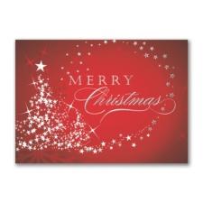 Starry Tree Merry Christmas