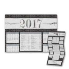 Decorated Year - Calendar Card