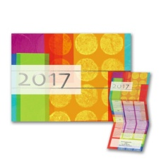 Contemporary Color - Calendar Card