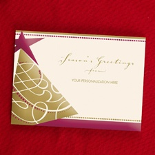 Greetings of the Season Holiday Card