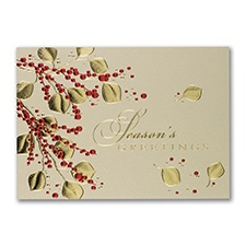 Elegant Touch Holiday Card