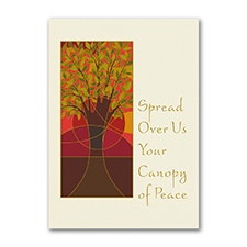 Canopy of Peace - Holiday Card
