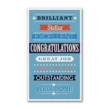 Congrats Wording