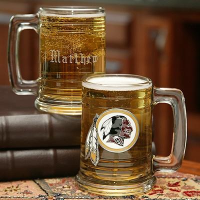 NFL Glass Tankard - Redskins