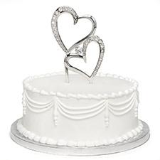 Sparkling Love Cake Pick