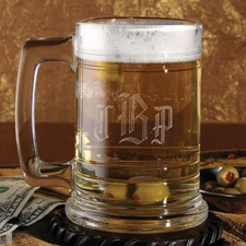 Glass Tankard - Personalized