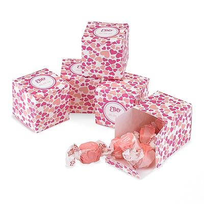 Circled Hearts Favor Boxes