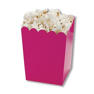 Mini Scallop Boxes - Hot Pink