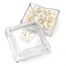 50th Anniversary Candy Dish