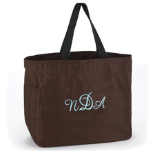 Custom Tote Bag - Brown