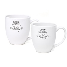 Good Morning Wifey/Hubby - Mug Set