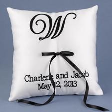 Custom Top Monogram Pillow